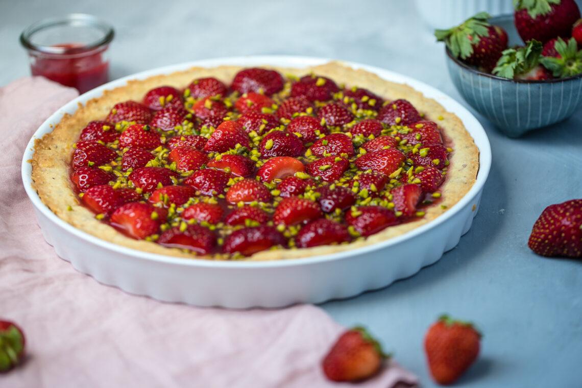 Fraeulein Meer backt Erdbeertarte