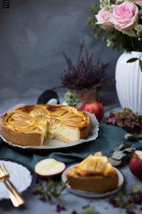 Fraeulein Meer backt Apfel Schmand Kuchen