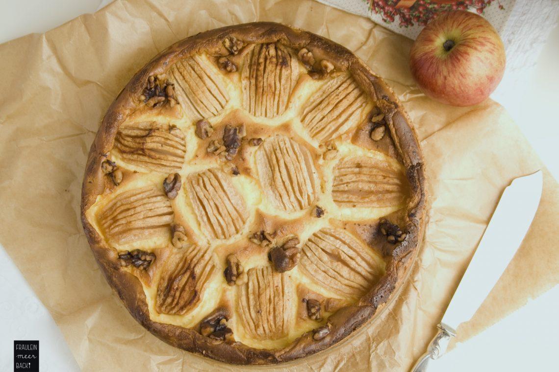 Apfel Schmand Kuchen Fraulein Meer Backt