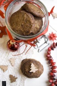 Cranberry Lakritz Kekse