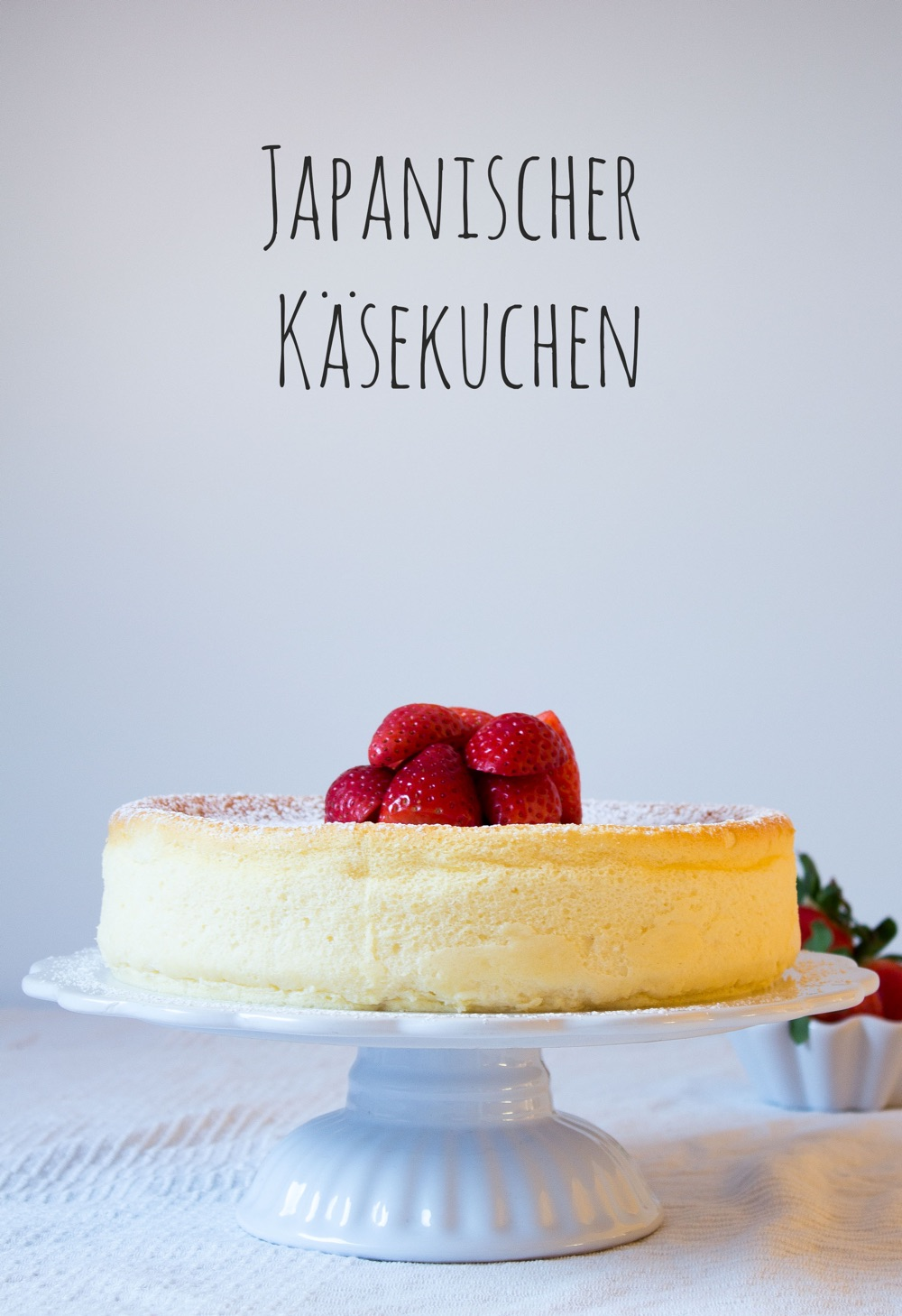 Little Sweet Things Japanischer Kaesekuchen