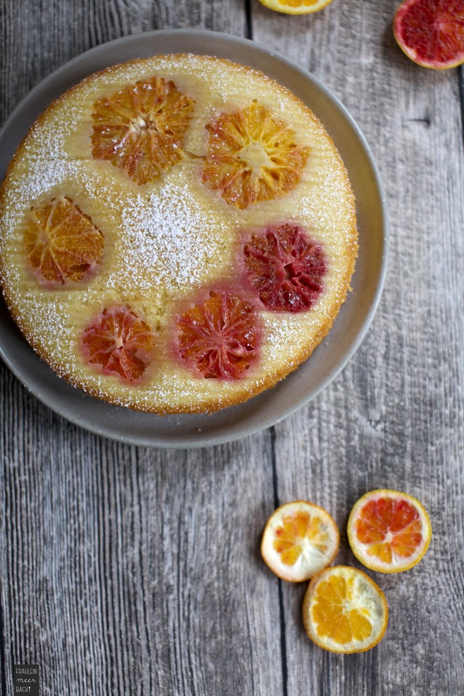 Fraeulein Meer backt Orangen-Mandelkuchen