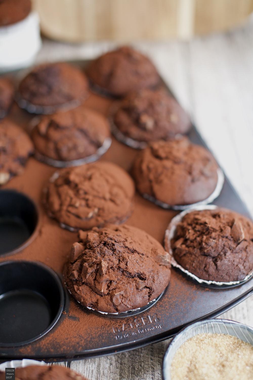Fraeulein Meer backt Schoko Muffins