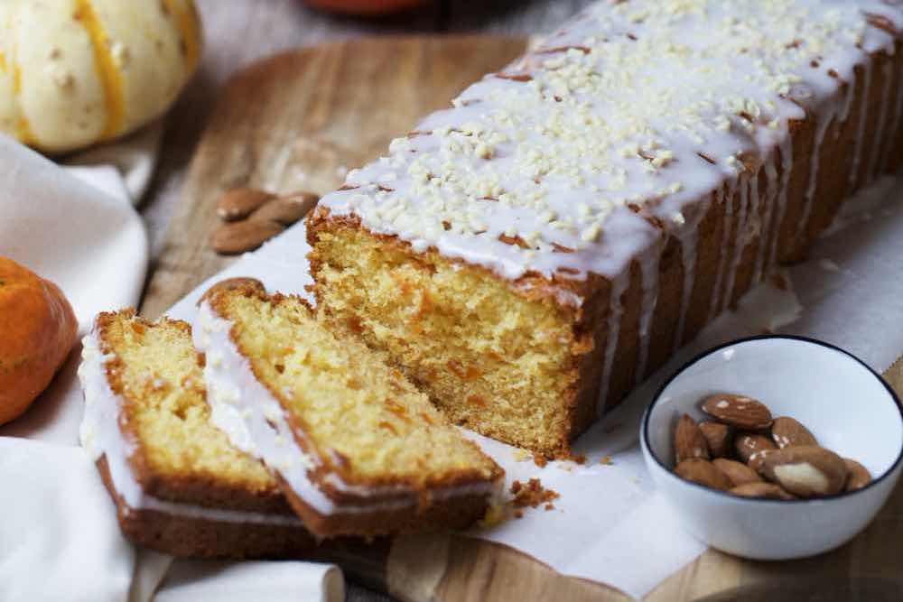 Fraeulein Meer backt Kürbis Honig Kuchen