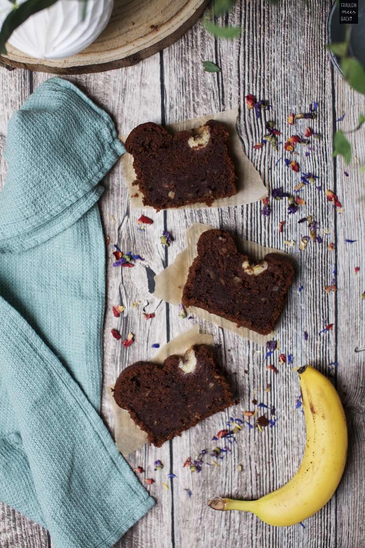 Fraeulein Meer backt Schokoladen Bananenbrot