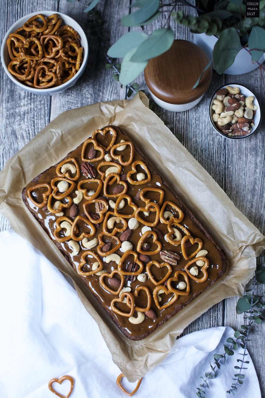 Fraeulein Meer backt Salzkaramell Brownies