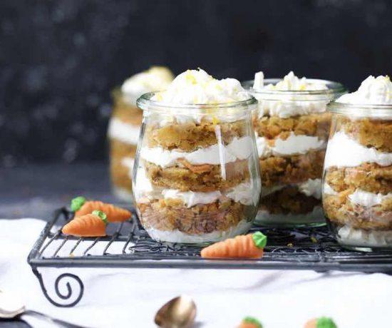 Fraeulein Meer backt Carrot Cake im Glas