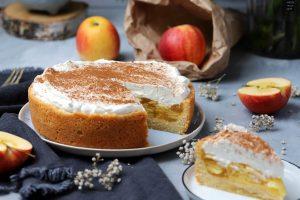 Fraeulein Meer backt Apfel-Quark-Kuchen