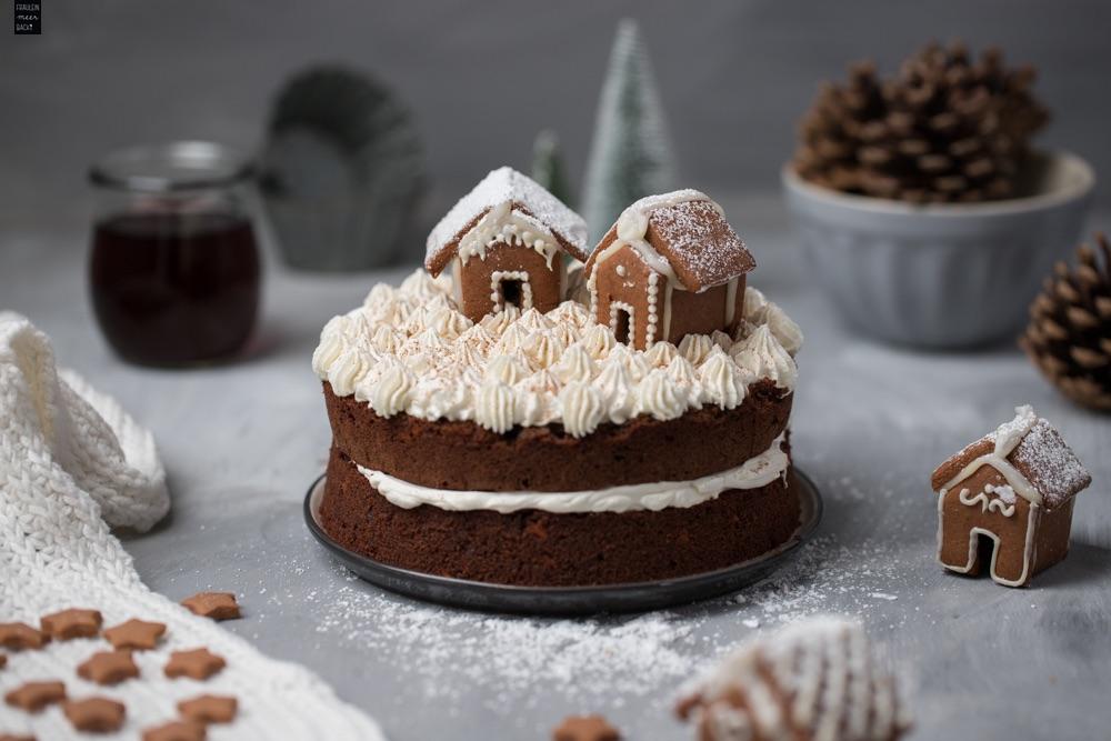 Fraeulein Meer backt Glühwein-Schoko-Torte