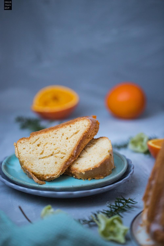 Fraeulein Meer backt Orangen Guglhupf