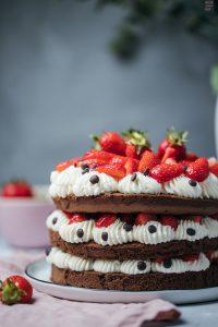 Fraeulein Meer backt_Schokoladen-Erdbeer-Torte