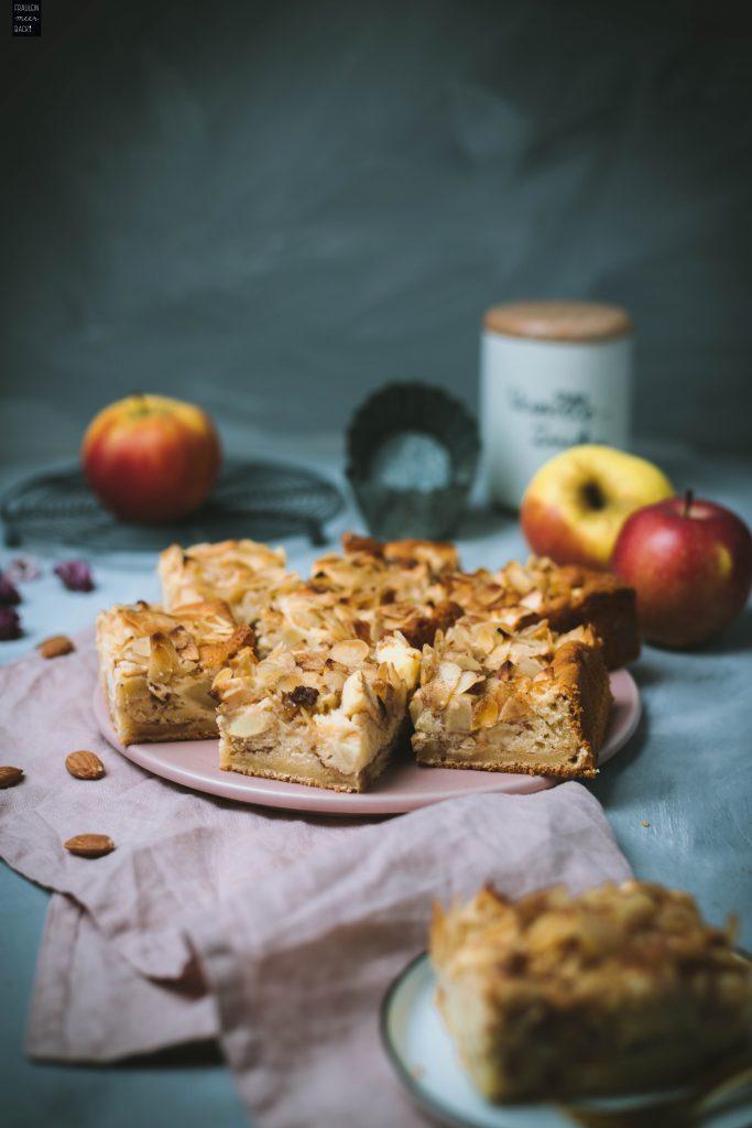 Fraeulein Meer backt Apfel-Zimt-Kuchen vom Blech
