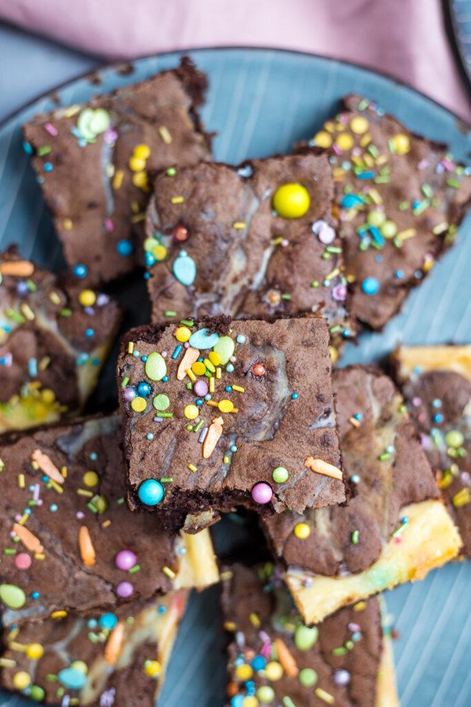 Fraeulein Meer backt Eierlikör Brownies